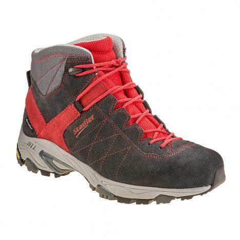 Stadler Schuhe Outdoor Walker – Hochzell (anthrazit-rot)