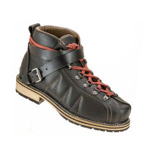 Stadler Schuhe Trachtenschuh Jochberg + Riemen (schwarz)