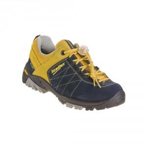 Stadler Schuhe Kid's Walker - Zell Junior (blau-gelb)