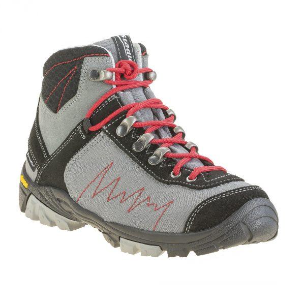 Stadler Schuhe Kid's Walker – Zell Mid Junior Air (grau)