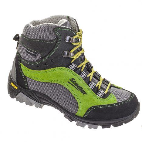 Stadler Schuhe Lupo-anthrazit-grün