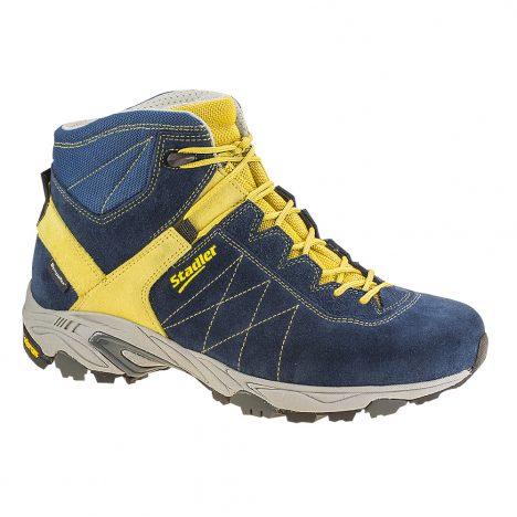 Stadler Schuhe Outdoor Walker - Hochzell (blau-gelb)