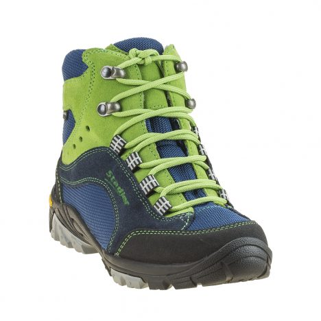 Stadler Schuhe Kid's Walker – Lupo (blau-grün)