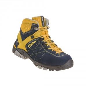 Stadler Schuhe Kid's Walker - Zell Junior Mid (blau-gelb)