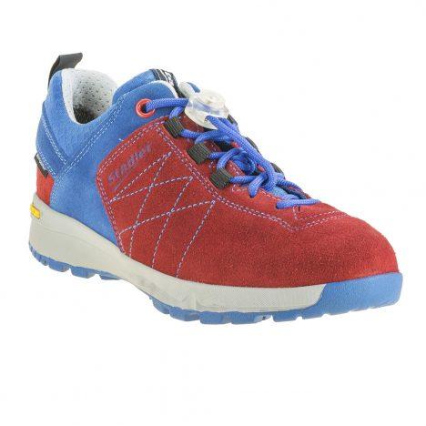 Stadler Schuhe Kid's Walker – Zell Junior (rot-kobalt)