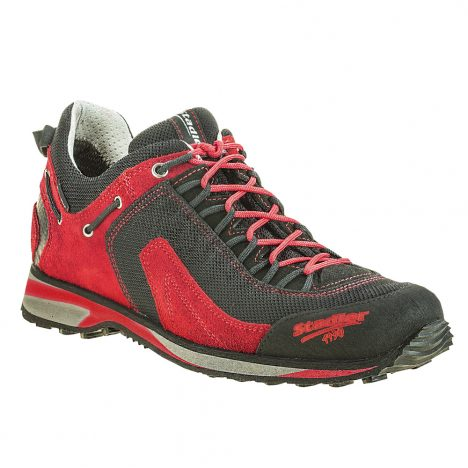 Stadler Schuhe – Outdoor – Ramsau (schwarz-rot)