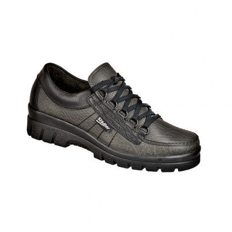 Stadler Schuhe Komfort-Damen Walker - Tramp Lady (schwarz)