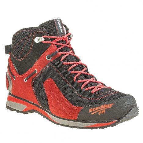 Stadler Schuhe – Outdoor – Ramsau Mid (schwarz-rot)
